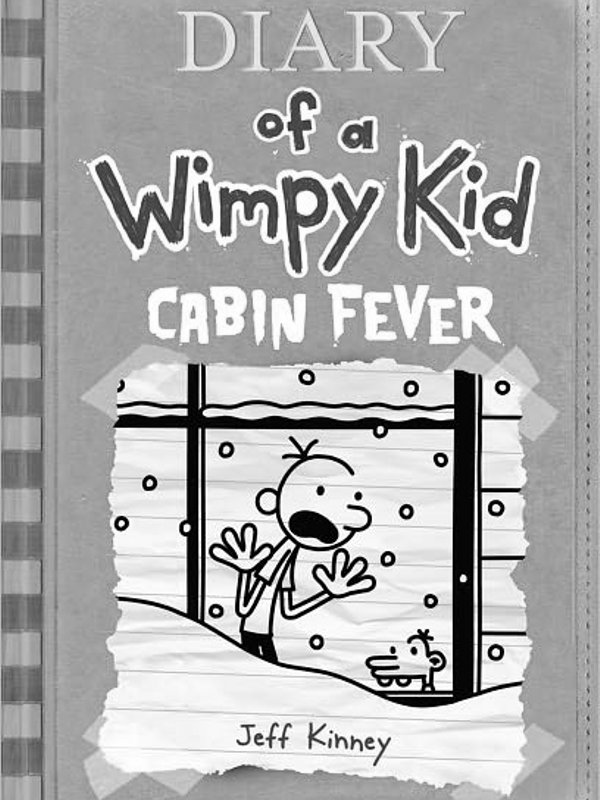 Jeff Kinney Diary Of A Wimpy Kid Cabin Fever Book Covers E